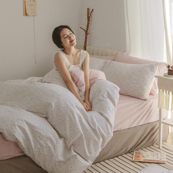 純棉 床包組 特大【小實】ikea風格  100% 精梳純棉  翔仔居家