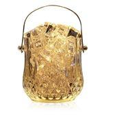 【全館】現折200玻璃保溫紅酒啤酒冰桶家用香檳桶中秋佳節