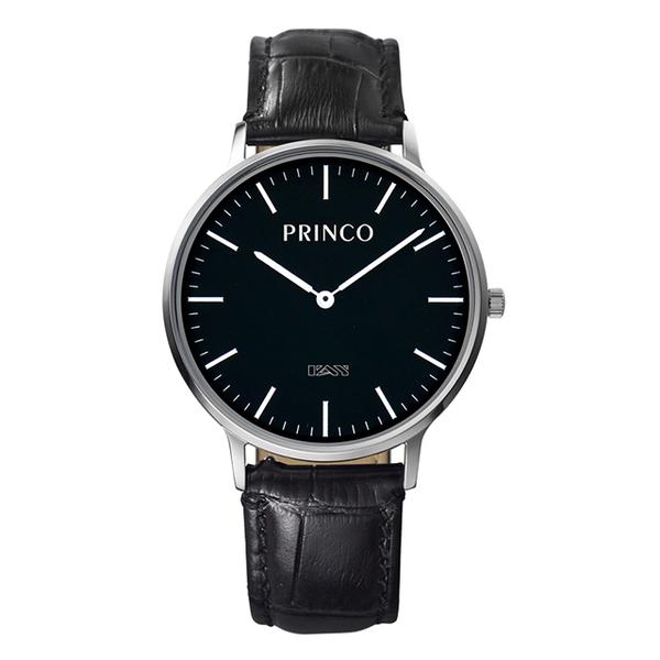 PRINCO一卡通速Pay錶-黑時尚銀