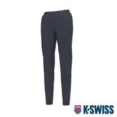 K-SWISS HS Woven Pants韓版運動長褲-女-深藍