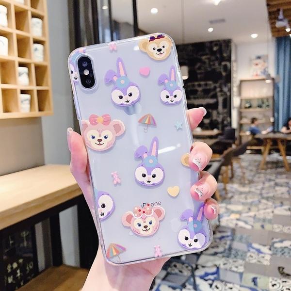 跳舞兔子 小米9T pro 紅米Note8 pro 紅米Note7 透明手機殼 達菲熊 星黛露 保護殼保護套 全包邊軟殼