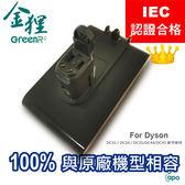♛IEC認證♛Dyson 戴森手持吸塵器 DC31/DC34/DC35/DC44/DC45 鎖螺絲式充電鋰電池 六個月保固