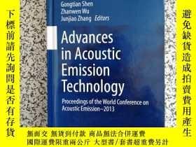 二手書博民逛書店Advances罕見in Acoustic Emission T