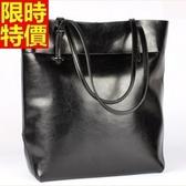 手提包-真皮簡潔百搭率性自然側背女包包4色68m32【巴黎精品】