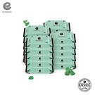 韓國 Enblanc 極柔純水無蓋攜帶裝濕紙巾-薄荷萃取物20抽20入|箱購