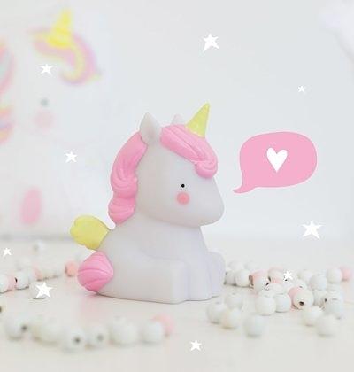 【荷蘭 A little lovely company】 療癒小夜燈 - 獨角獸#LLUNWH34