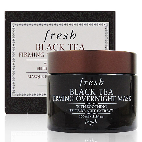 fresh BLACK TEA FIRMING OVERNIGHT MASK 紅茶晚間緊緻面膜100ml (國際限定版) [QEM-girl]