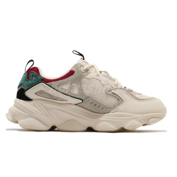 Fila 休閒鞋 Skipper 米白 灰 女鞋 奶茶色 老爹鞋 復古慢跑鞋 運動鞋 【ACS】 4J528U940