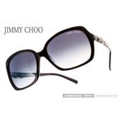 JIMMY CHOO 太陽眼鏡 JCLELAS 807JJ (時尚黑色) 經典廣告款 奢華精品 墨鏡 # 金橘眼鏡