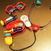 Toyroyal皇室仿真醫生玩具套裝兒童女孩打針女孩過家家聽診器男孩