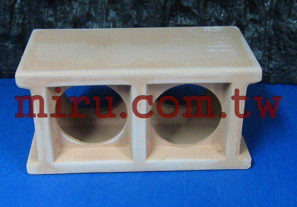 【西高地水族坊】雅柏UP代理 陶瓷製品 陶瓷磚塊,陶瓷空心磚XL號