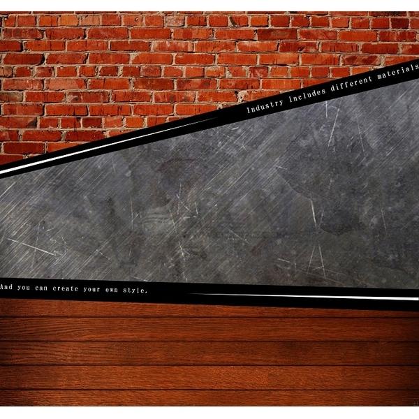 【多瓦娜】微量元素-原始工業風二抽床頭櫃/床邊櫃-COAST B02