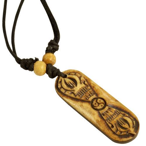【藏傳佛教文物】金剛杵法器造型-質感飾鍊 手鍊 吊鍊 掛件/吊墜/護身符(PB-N0001)