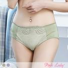 舒適透氣柔滑配褲 絢爛迷情內褲2988(綠色、紫色)-Pink Lady