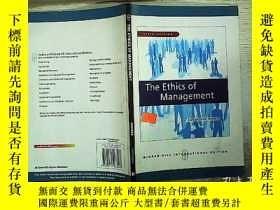 二手書博民逛書店THE罕見ETHICS OF MANAGEMENT 16開本Y1