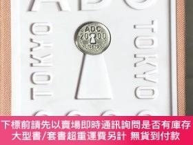 二手書博民逛書店ADC年鑒2000、Tokyo罕見Art Directors Club Annual 2000、日本設計年鑒、平面