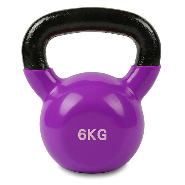 韻彩壺鈴『6KG』20-20017 運動.瘦腰提臀.瑜珈.健身.力量訓練.輕巧便攜.健身塑形