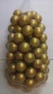 球 遊戲球 彩球 外銷球金色彩球 (球屋、球池專用波波球)~ST安全玩具50球賣場~