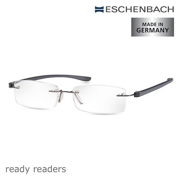 【德國 Eschenbach 宜視寶】ready readers 德國單光老花眼鏡 紳士灰