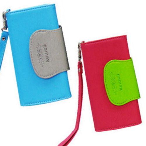 gamax 撞色系列 手機皮套 Acer Liquid Metal ◆贈送! 抽拉式手機套(高質感皮革) 一個◆