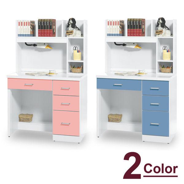 【時尚屋】[MT7]梅薇思3.2尺書桌MT7-624-7兩色可選/免運費/免組裝/書桌
