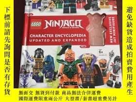 二手書博民逛書店LEGO罕見NINJAGO Character Encyclopedia, Updated EditionY2