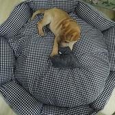 狗窩可拆洗貓窩泰迪 金毛 薩摩耶哈士奇大型犬寵物窩秋冬款