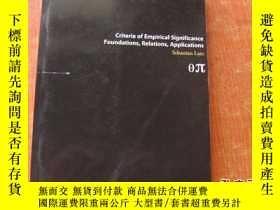 二手書博民逛書店criteria罕見of empirical【詳情看圖】Y989