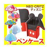 Mickey 米奇 可立式筆袋 筆筒 文具包 多功能拉鍊包 日本迪士尼正版商品