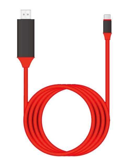 type-C轉HDMI USB 3.1 to HDMI 4K手機電視轉接高清線 三星 S8 S9 note8 轉接線