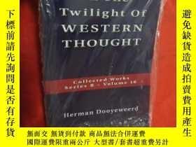 二手書博民逛書店The罕見Twilight of Western Thought (小16開) 【詳見】Y5460 Herma