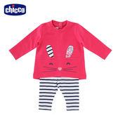 chicco-To Be Baby-長袖小兔造形套裝
