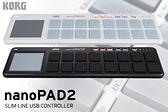 小叮噹的店- USB MIDI 控制器 KORG NANOPAD 2代 迷你鍵盤控制器