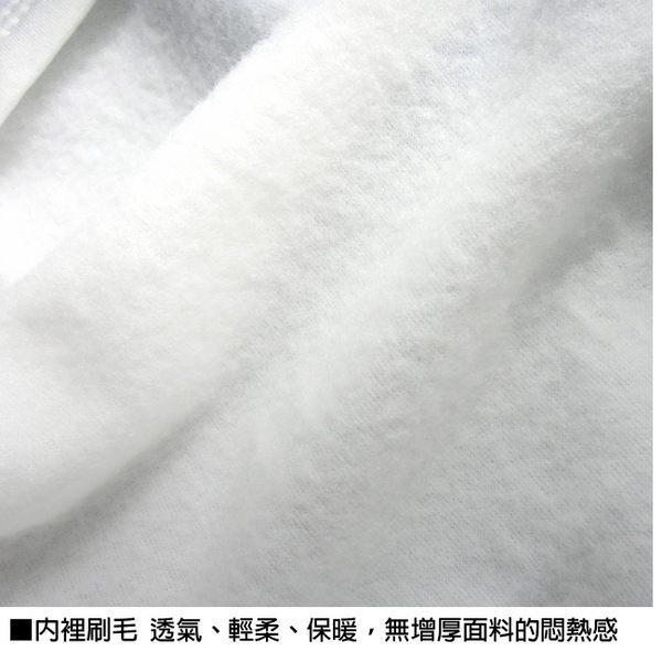 印花保暖衣內裡刷毛,蓄熱保暖,透氣性佳