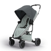 Quinny ZAPP X FLEX PLUS 嬰兒四輪手推車-旗艦版(深灰篷灰布)贈提籃+雨罩[衛立兒生活館]
