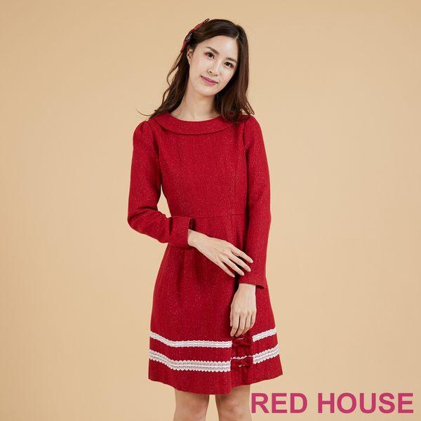 RED HOUSE 毛料洋裝