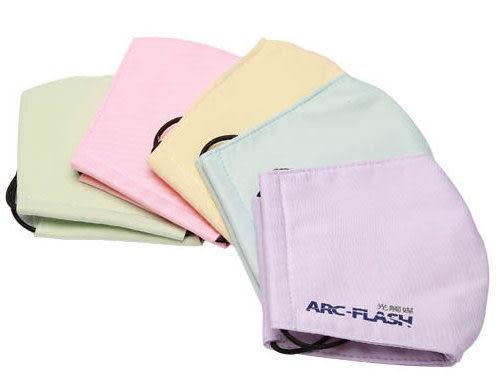 【12週年慶】ARC-FLASH光觸媒三層布口罩五入組 (大人 M版-5色綜合) - 抗菌‧脫臭‧防曬‧遠離過敏源