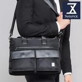 74盎司 Presence 雙口袋造型側背包 [G-1048]