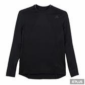 Adidas 女 SN LS TEE W 愛迪達 圓領T(長)- BR5901