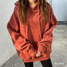 MD韓-刷毛連帽上衣-5色【01190803】