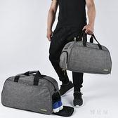 旅行包女大號手提出差行李包男短途旅行袋健身包輕便運動 YC839【雅居屋】