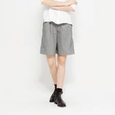 SISJEANS-淺灰色休閒寬鬆五分褲【1719200503】