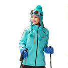 防風防潑水 透氣 保暖 女加厚 滑雪夾克...