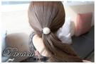 髮束 現貨 韓國氣質甜美小香風地球儀金線珍珠髮束 S7670  批發價 Danica 韓系飾品 韓國連線
