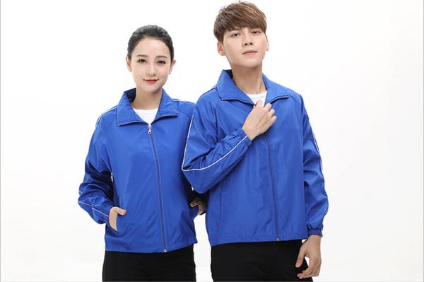 【晶輝團體制服】SS01A*素面防風防潑水風衣外套輕薄(印刷免費)公司制服,班服