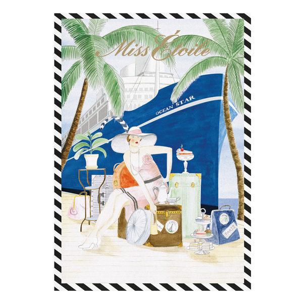 Miss Étoile 漫遊筆記本 (A4)