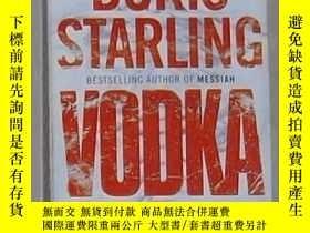 二手書博民逛書店英文原版罕見Vodka by Boris Starling 著Y