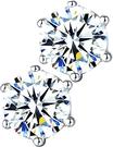 La Belle Fleur【日本代購】施華洛世 奇螺柱耳環 耳環飾釘銀色925