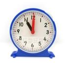 【台灣製USL遊思樂】教學時鐘 / 單手操作小時鐘(12cm,藍,1pcs)