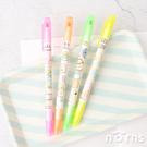 角落生物雙頭螢光筆- Norns 正版文具 螢光記號筆 彩色筆